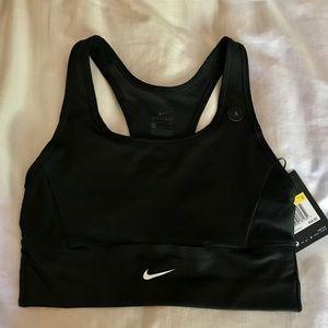 Nike training dri-fit sports bra black